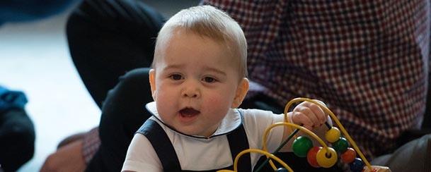 Príncipe George faz um ano!