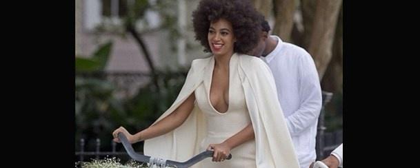 Irmã de Beyoncé casa-se em fato ousado!